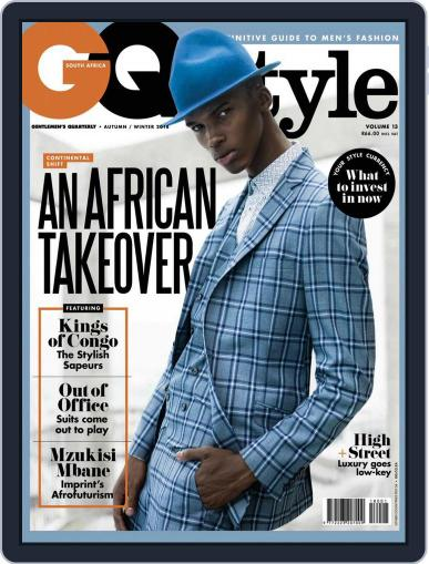 Gq Style South Africa (Digital) May 1st, 2018 Issue Cover
