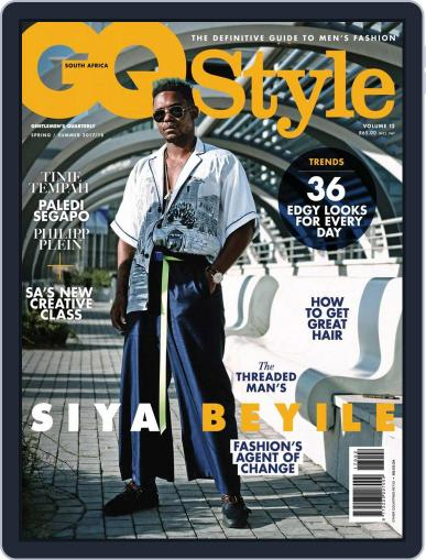Gq Style South Africa (Digital) October 1st, 2017 Issue Cover