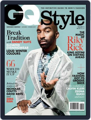 Gq Style South Africa (Digital) May 1st, 2017 Issue Cover