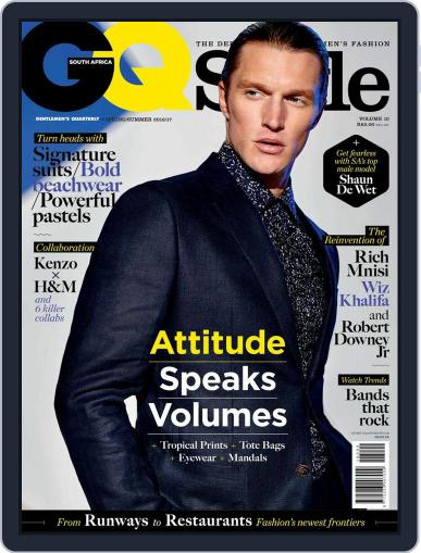 Gq Style South Africa (Digital) October 1st, 2016 Issue Cover