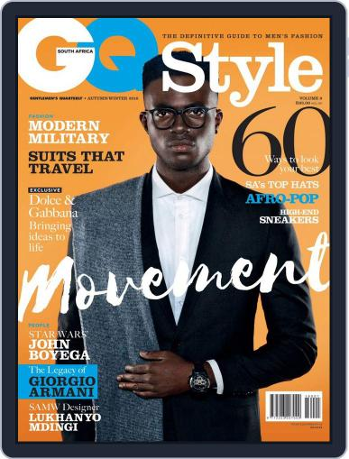 Gq Style South Africa (Digital) May 11th, 2016 Issue Cover