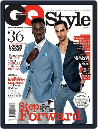 Gq Style South Africa (Digital) October 14th, 2015 Issue Cover