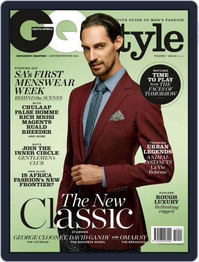 Gq Style South Africa (Digital) January 1st, 2015 Issue Cover