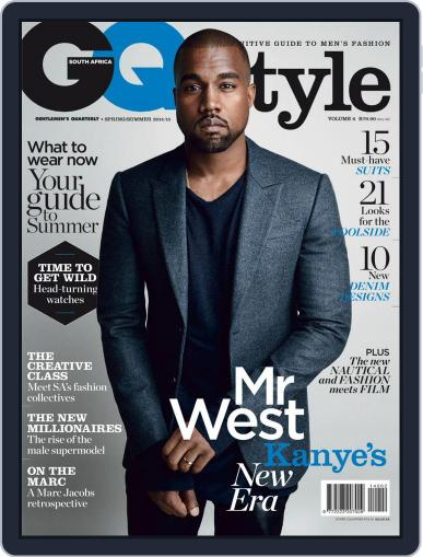Gq Style South Africa (Digital) October 15th, 2014 Issue Cover