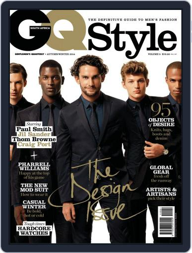 Gq Style South Africa (Digital) May 14th, 2014 Issue Cover