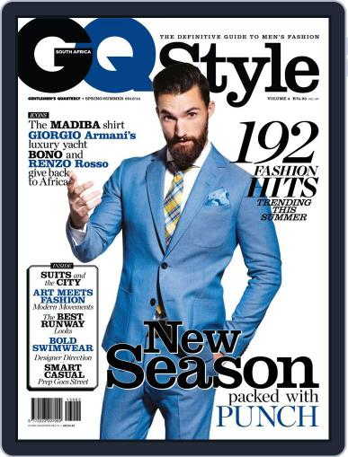 Gq Style South Africa (Digital) October 8th, 2013 Issue Cover