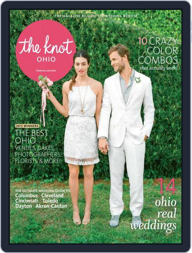 The Knot Ohio Weddings July 13th, 2015 Digital Back Issue Cover