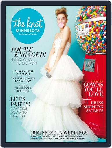 The Knot Minnesota Weddings (Digital) July 16th, 2018 Issue Cover