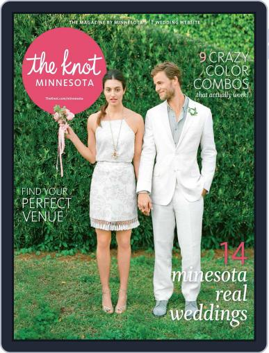 The Knot Minnesota Weddings (Digital) August 10th, 2015 Issue Cover