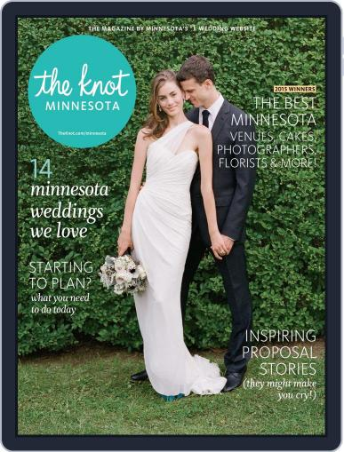The Knot Minnesota Weddings (Digital) February 9th, 2015 Issue Cover