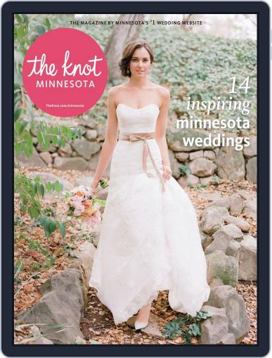 The Knot Minnesota Weddings (Digital) August 11th, 2014 Issue Cover