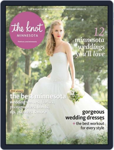 The Knot Minnesota Weddings (Digital) February 3rd, 2014 Issue Cover