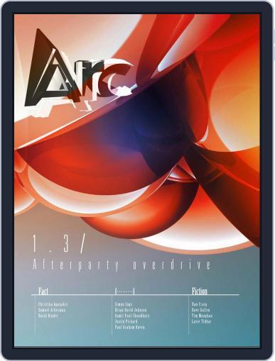 Arc (Digital) September 25th, 2012 Issue Cover