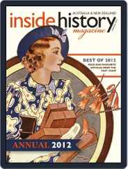 Inside History - Annual Magazine (Digital) Subscription January 4th, 2013 Issue