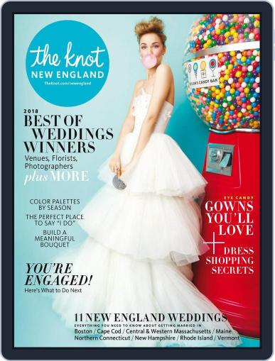 The Knot New England Weddings (Digital) May 21st, 2018 Issue Cover