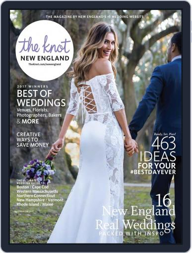 The Knot New England Weddings (Digital) September 1st, 2017 Issue Cover