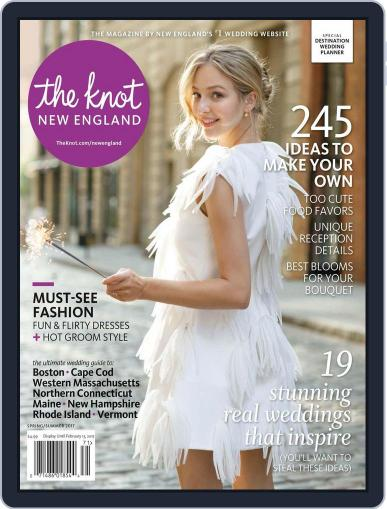 The Knot New England Weddings (Digital) January 1st, 2017 Issue Cover