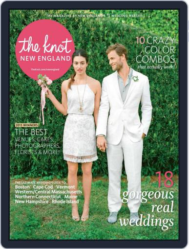 The Knot New England Weddings (Digital) June 1st, 2015 Issue Cover