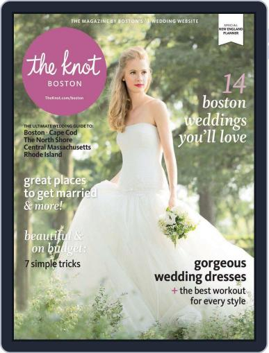 The Knot New England Weddings (Digital) December 1st, 2013 Issue Cover
