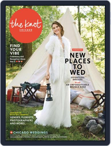 The Knot Chicago Weddings (Digital) January 28th, 2019 Issue Cover