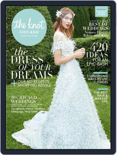 The Knot Chicago Weddings (Digital) January 22nd, 2018 Issue Cover