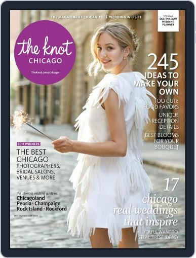 The Knot Chicago Weddings (Digital) January 1st, 2017 Issue Cover