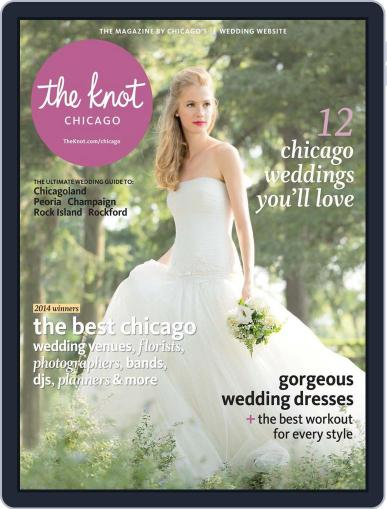 The Knot Chicago Weddings (Digital) February 1st, 2014 Issue Cover