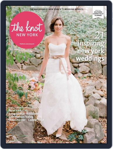 The Knot New York Metro Weddings (Digital) September 1st, 2014 Issue Cover