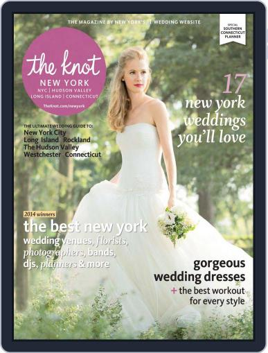 The Knot New York Metro Weddings June 1st, 2014 Digital Back Issue Cover