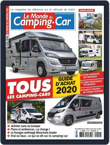 Le monde du camping-car HS (Digital) December 1st, 2019 Issue Cover
