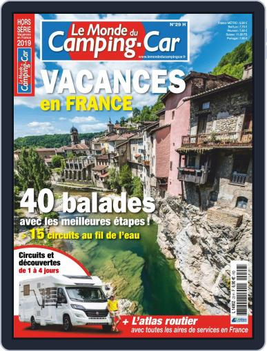 Le monde du camping-car HS (Digital) April 1st, 2019 Issue Cover