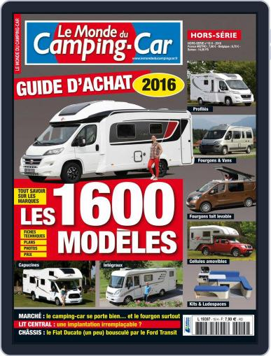 Le monde du camping-car HS (Digital) February 1st, 2016 Issue Cover