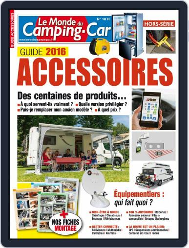 Le monde du camping-car HS (Digital) January 1st, 2016 Issue Cover