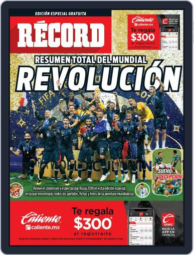 RÉCORD - Los Especiales (Digital) July 17th, 2018 Issue Cover