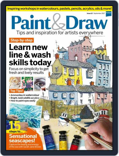 Paint & Draw (Digital) September 1st, 2017 Issue Cover