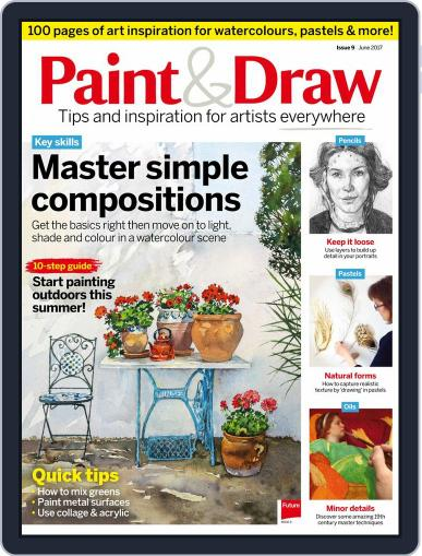 Paint & Draw (Digital) June 1st, 2017 Issue Cover