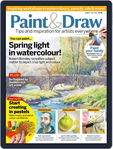 Paint & Draw (Digital) April 1st, 2017 Issue Cover