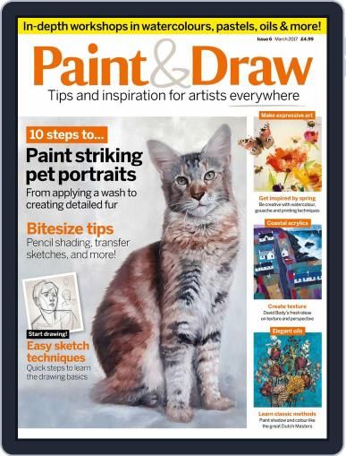 Paint & Draw (Digital) March 1st, 2017 Issue Cover