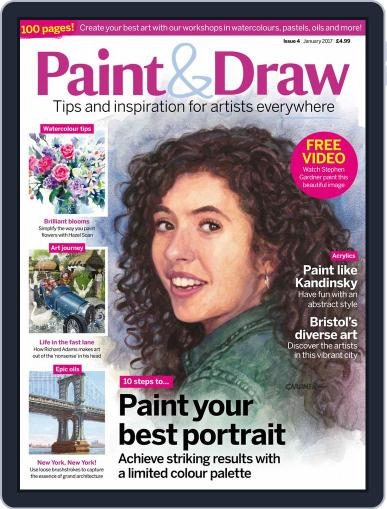 Paint & Draw (Digital) January 1st, 2017 Issue Cover
