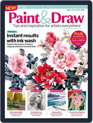 Paint & Draw (Digital) December 15th, 2016 Issue Cover