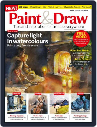 Paint & Draw (Digital) November 1st, 2016 Issue Cover