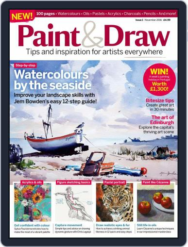 Paint & Draw October 31st, 2016 Digital Back Issue Cover