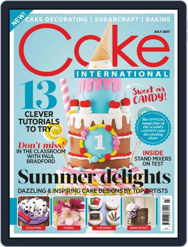 Cake International July 1st, 2017 Digital Back Issue Cover