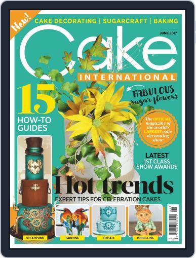 Cake International June 1st, 2017 Digital Back Issue Cover