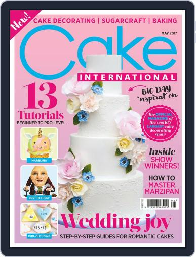 Cake International May 1st, 2017 Digital Back Issue Cover