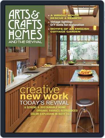 Arts Crafts Homes Back Issues Digital Discountmags Com
