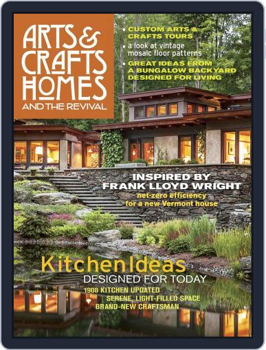 Arts & Crafts Homes (Digital) March 1st, 2017 Issue Cover