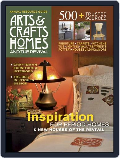Arts & Crafts Homes (Digital) December 1st, 2016 Issue Cover