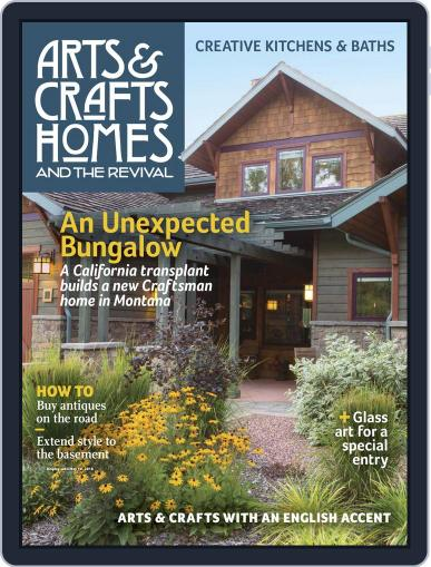 Arts & Crafts Homes (Digital) March 1st, 2016 Issue Cover