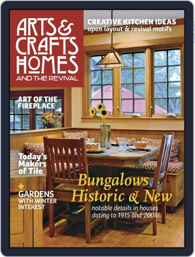 Arts & Crafts Homes (Digital) October 1st, 2015 Issue Cover